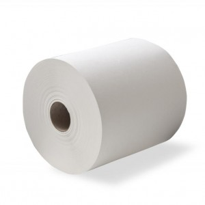 Duro Auto-cut Towel 200 metre Pure White