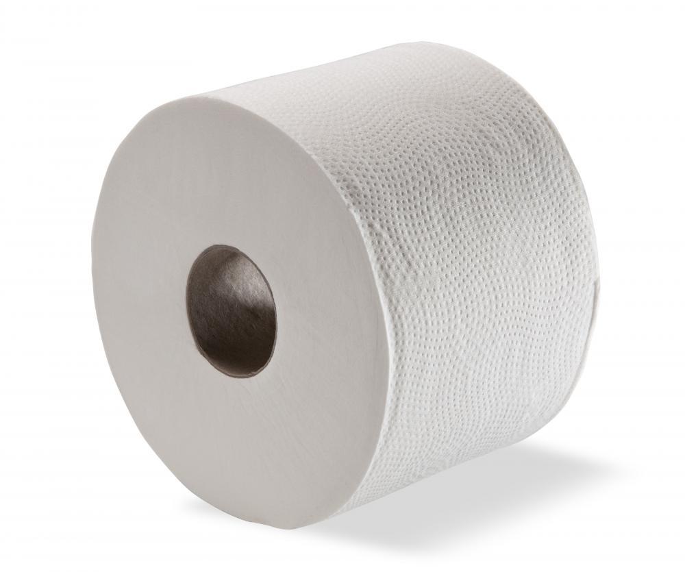 Charming Toilet Paper Roll Part - 13: Ultrasoft Mini Jumbo Toilet Paper Roll 115 Metre