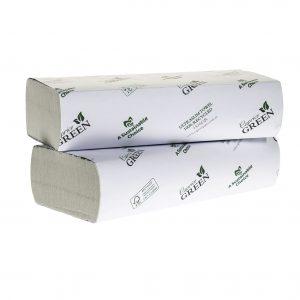 Caprice Green Interleaved Towel 24cm x 24cm