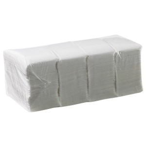 Duro Lunch Napkin 1 Ply 300mm x 300mm 1/8 Fold
