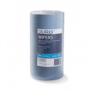Duro Wiper Roll Scrim Blue 70 metre x 24.5cm