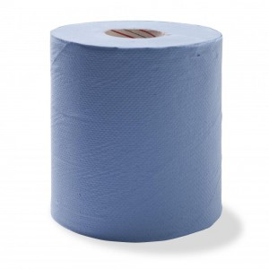 Duro Centrefeed Perforated Towel Blue 300 metre x 21cm