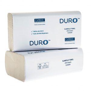 Duro Slimfold Interleaved Towel 23cm x 23cm