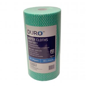 Duro Wiper Roll Heavy Duty Green 50cm x 30cm