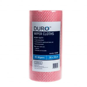 Duro Wiper Roll Heavy Duty Red 50cm x 30cm