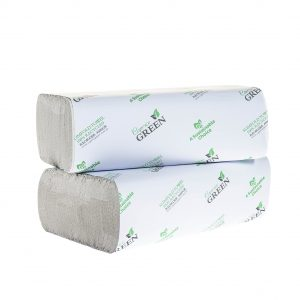 Caprice Green Slimfold Interleaved Towel 24cm x 23cm