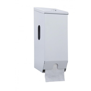 2 Roll Toilet Roll Dispenser (Metal)