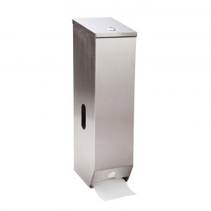 3 Roll Toilet Roll Dispenser (Stainless Steel)