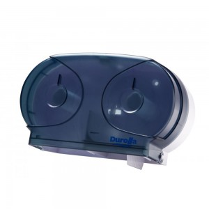 Mini Jumbo Twin Toilet Roll Dispenser (ABS Plastic)