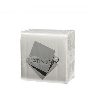 Platinum Lunch Napkin White