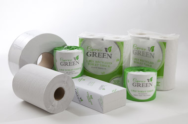Caprice Green Environmentally Friendly Toilet Tissue and Paper Products