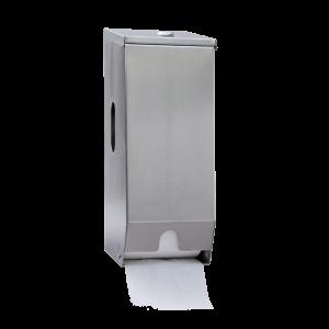2 Roll Toilet Roll Dispenser (Stainless Steel)
