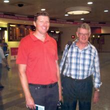 David and Brian Irvine