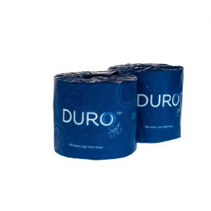 Duro Toilet Paper Roll 700 Sheet Individually Wrapped