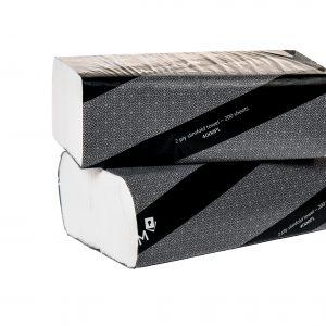 Platinum 2 Ply Slimfold Towel 23cm x 22cm