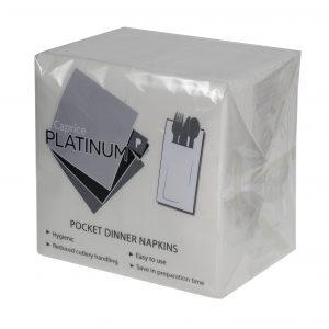 Platinum Pocket Dinner Napkin GT Fold